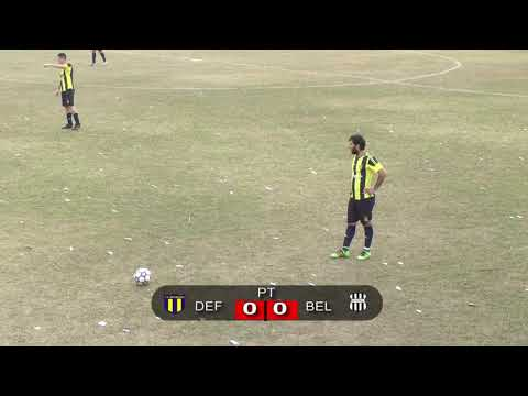 Defensores de San Marcos Sud vs. Bell de Bell Ville - Primer final torneo liga Bellvillense (0-1)
