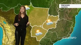 Previsão Centro-Oeste - Muito sol na região