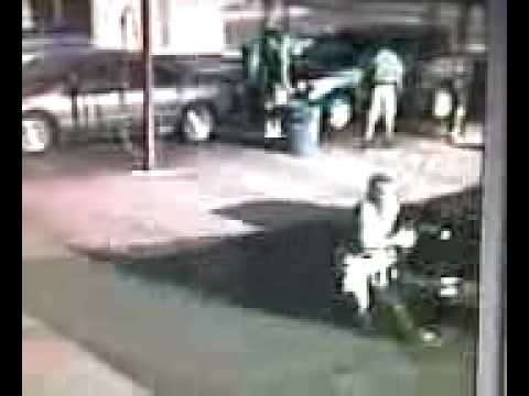 Man Gets Backed Over at Supersonic Carwash