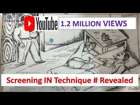 Screening IN Technique # Revealed # SSB Interview