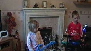 Abbey and Kieran Rock Star - Roxette - June Afternoon