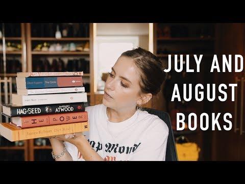 JULY AND AUGUST BOOKS | sunbeamsjess