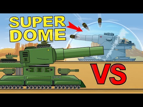 """""""Under Energy Dome"""" Cartoons About Tanks"""