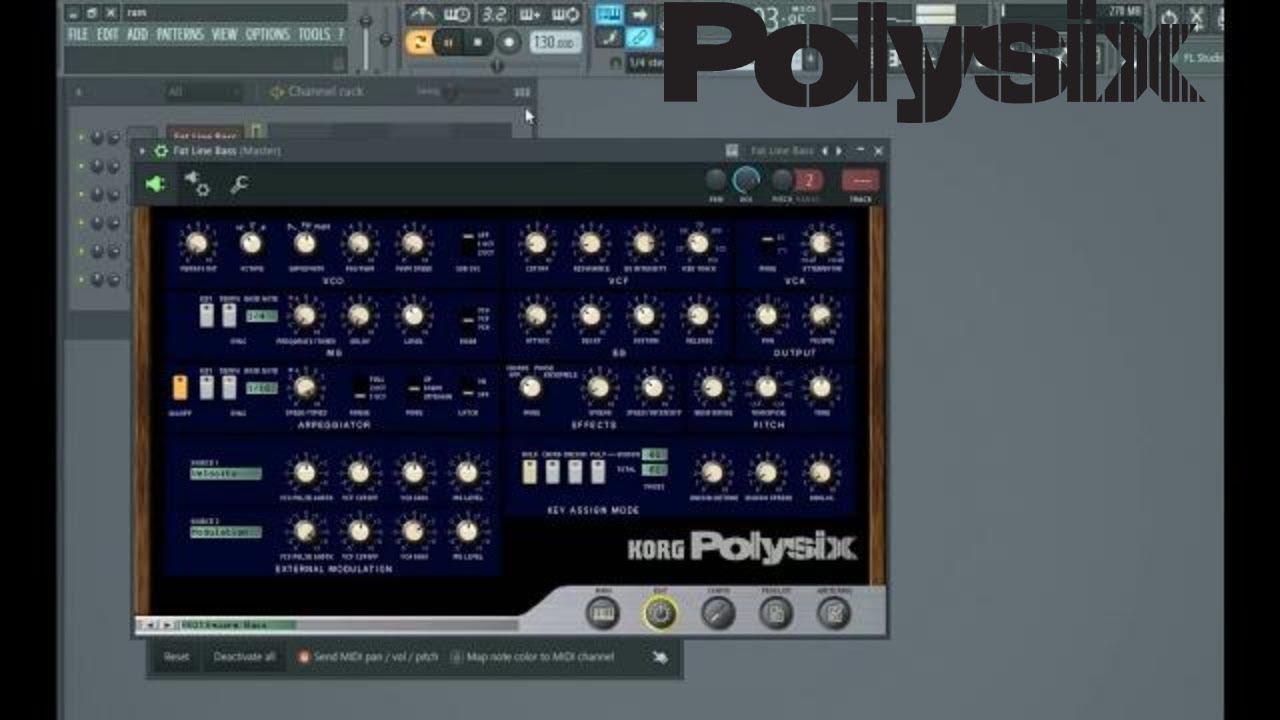 korg polysix plugin free