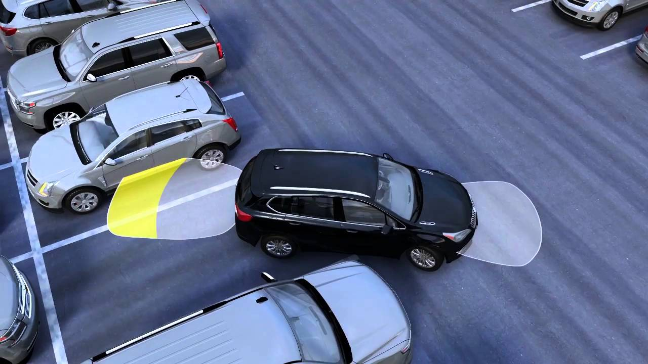 Buick Regal: Ultrasonic Parking Assist