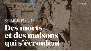 Un séisme fait au moins 20 morts dans le sud-ouest du Pakistan