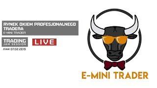 Rynek okiem profesjonalnego tradera, E-mini Trader, #144 TJS