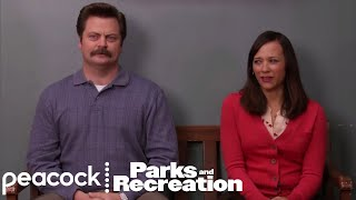 Ron Swanson has April Take Over for Leslie - Parks and Recreation
