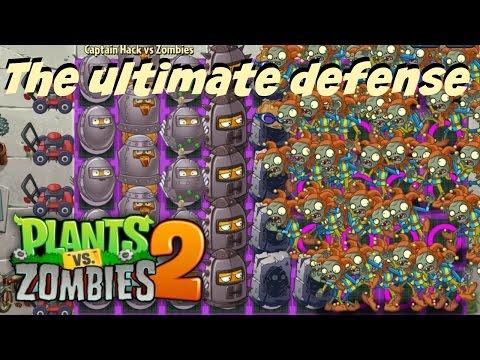Plants vs Zombies 2 Epic Hack - The Ultimate Defense - Potato Mines vs Zombies