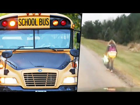 Ditch - Dad Makes Daughter Walk 5 Miles To School After She Bullied A Student