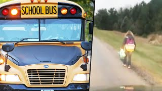 Dad Makes Daughter Walk 5 Miles to School After She's Accused of Bullying