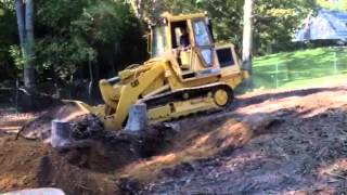 Cat 953 digging