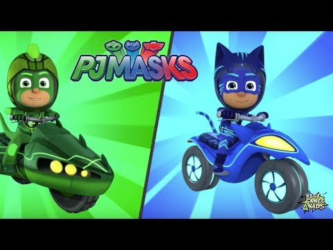 CATBOY & GEKKO Moon Mission! | PJ Masks: Racing Heroes By Entertainment One