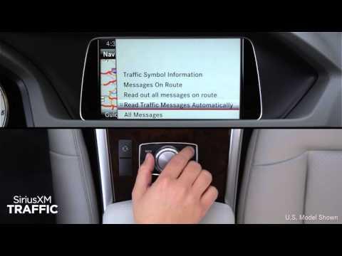 How-To: SiriusXM Traffic   Mercedes-Benz Canada