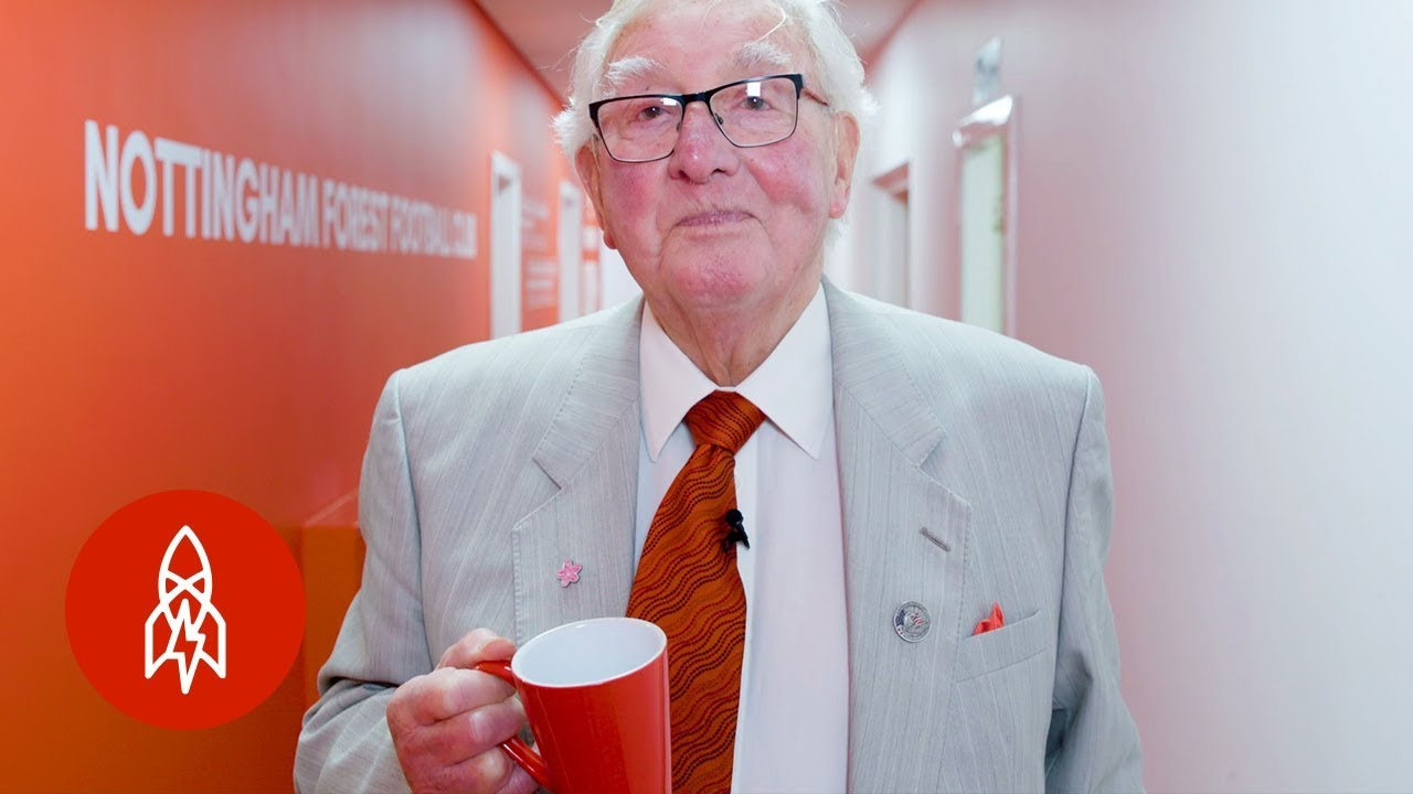 Meet England's 88-Year-Old Tea Boy