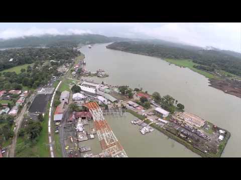 Panama Canal's Titan Crane Used for Maintenance Works