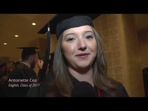 Catholic University 2017 Commencement in Washington, D.C.