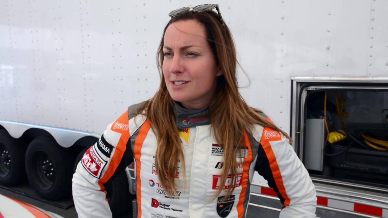 Porsche 911 GT3 Cup , Interview With Race Car Driver Valérie Chiasson