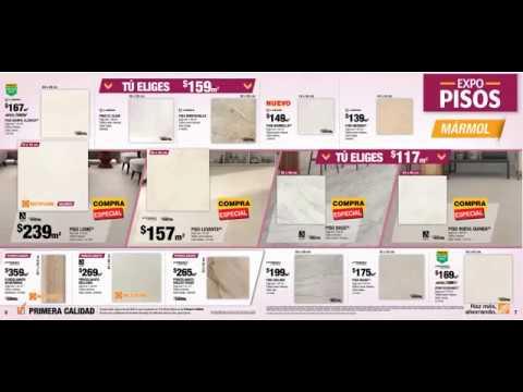 catalogo Home depot Pisos febrero 2018