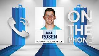 Dolphins QB Josh Rosen Talks Cardinals Departure & More w/Rich Eisen   Full Interview   5/14/19