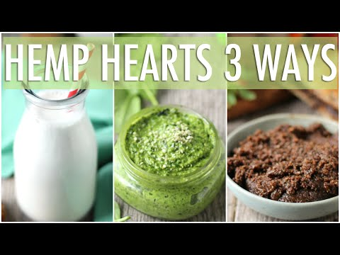 How to Eat Hemp Hearts 3 Ways! | Hemp Heart Benefits