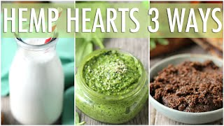 How to Eat Hemp Hearts - 3 Ways! | Hemp Heart Benefits