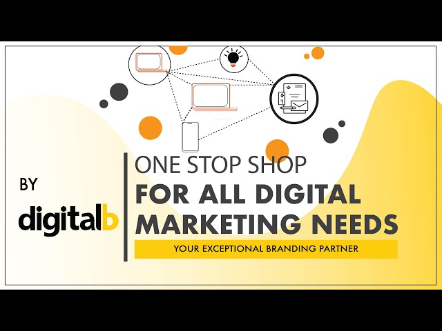 ONE STOP SHOP FOR ALL DIGITAL MARKETING NEEDS