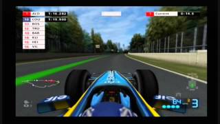F1 06 PS2 Gameplay (Fernando Alonso,Renault,Canada)