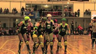 Amsterdam Derby Dames v Roller Girls of the Apocalypse - AmsterBam Part 1