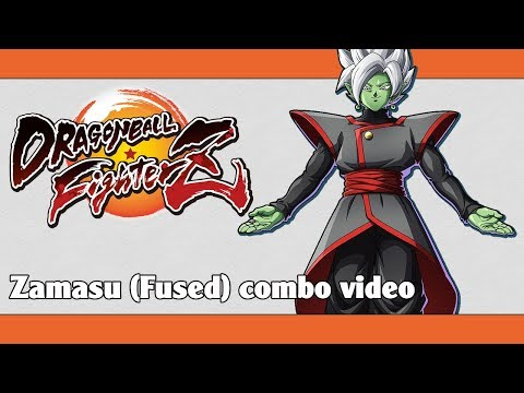 DBFZ: Zamasu (Fused) combo video (100% compilation)