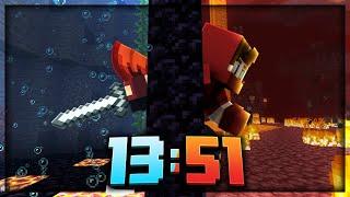 Minecraft 1.16 RSG TOP 5 Speedrun [13:51]