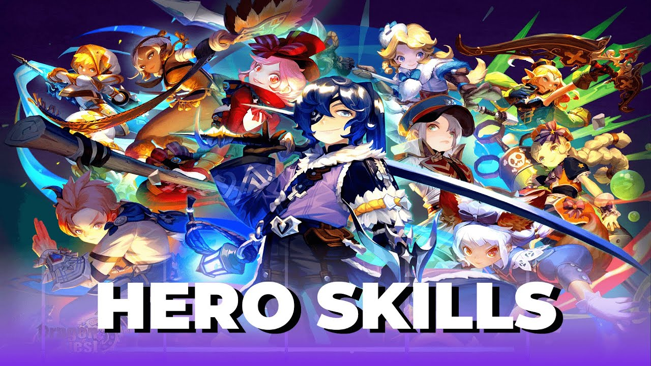 Download HERO SKILLS [All Class] Dragon Nest SEA