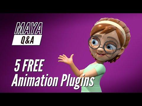 Maya Q&A - 5 Free Animation Plugins