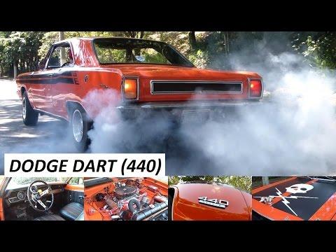 Garagem Do Bellote TV: Dodge Dart 440 V8 (escape Dimensionado, Câmbio Torqueflite E 375 Cv)