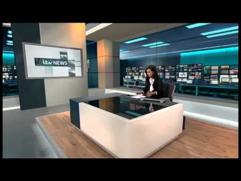 ITV News at 1.30: New look - January 14 2013