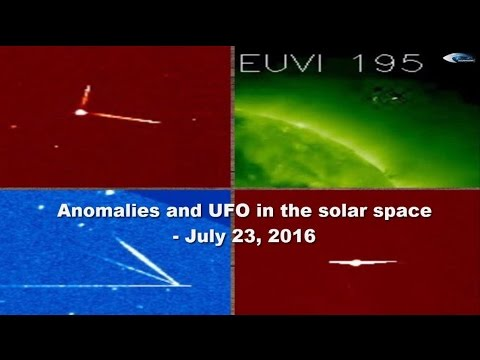 Anomalies and UFO in the solar space - July 23, 2016