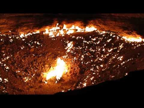 """The Turtle Expedition visits """"The Door to Hell"""" in Turkmenistan"""
