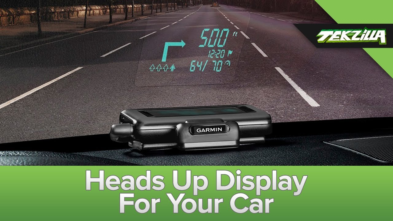garmin 39 s heads up display youtube. Black Bedroom Furniture Sets. Home Design Ideas