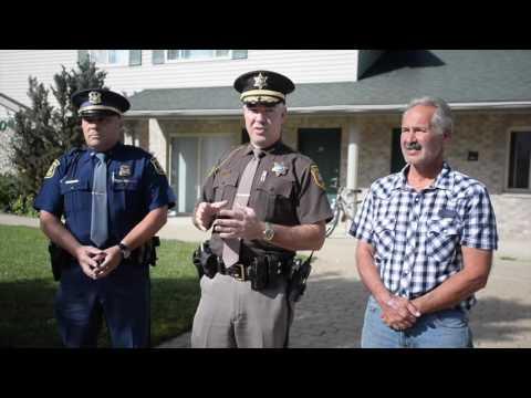 Saginaw County Sheriff William Federspiel on moving forward after the weekend shooting near SVSU