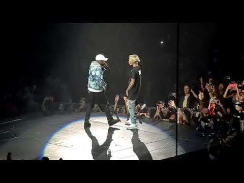 Justin Bieber Purpose Tour No Pressure...