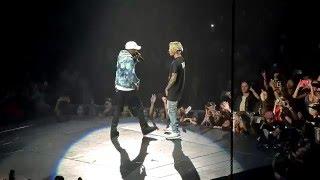 Download Video Justin Bieber Purpose Tour No Pressure feat Big Sean Los Angeles 3/20/16 MP3 3GP MP4