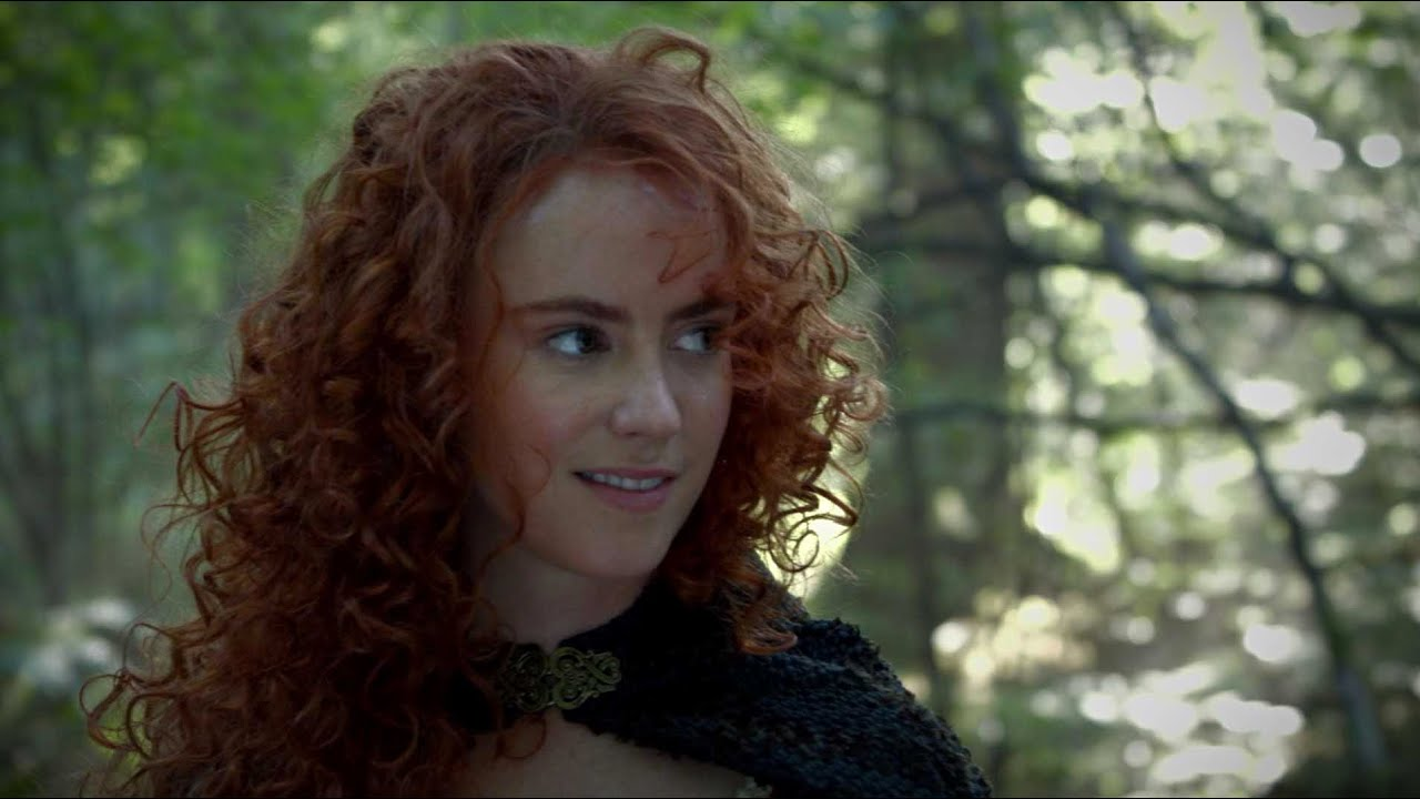 Amy Manson Once Upon A Time merida from 'brave' coming to 'once upon a time': comic con