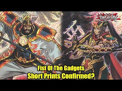 fist-of-the-gadgets-yu-gi-oh!-short-prints-confirmed!?