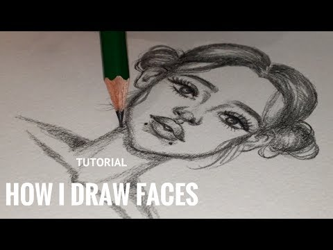TUTORIAL: HOW I DRAW FACES!