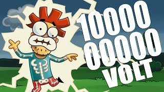 Arnold's Blitzschlag mit 1 000 000 Volt
