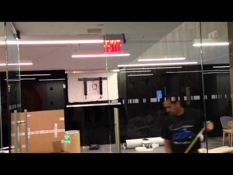Tour of new Y&R New York office with worldwide CD Tony Granger