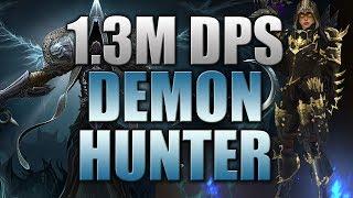 my demon hunter gear skills and build 1 3m dps diablo 3 reaper of souls