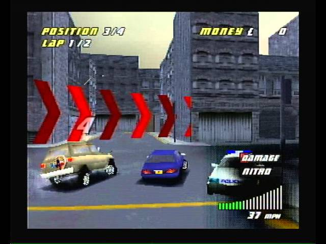 London Racer II  (PSX, PS1, PSONE, Playstation) - opening video and gameplay, no commentary
