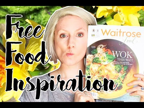 Free Food Inspiration - 5 Spring Meal Ideas