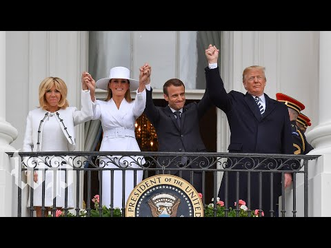 Watch live: Guests arrive to White House state dinner for France